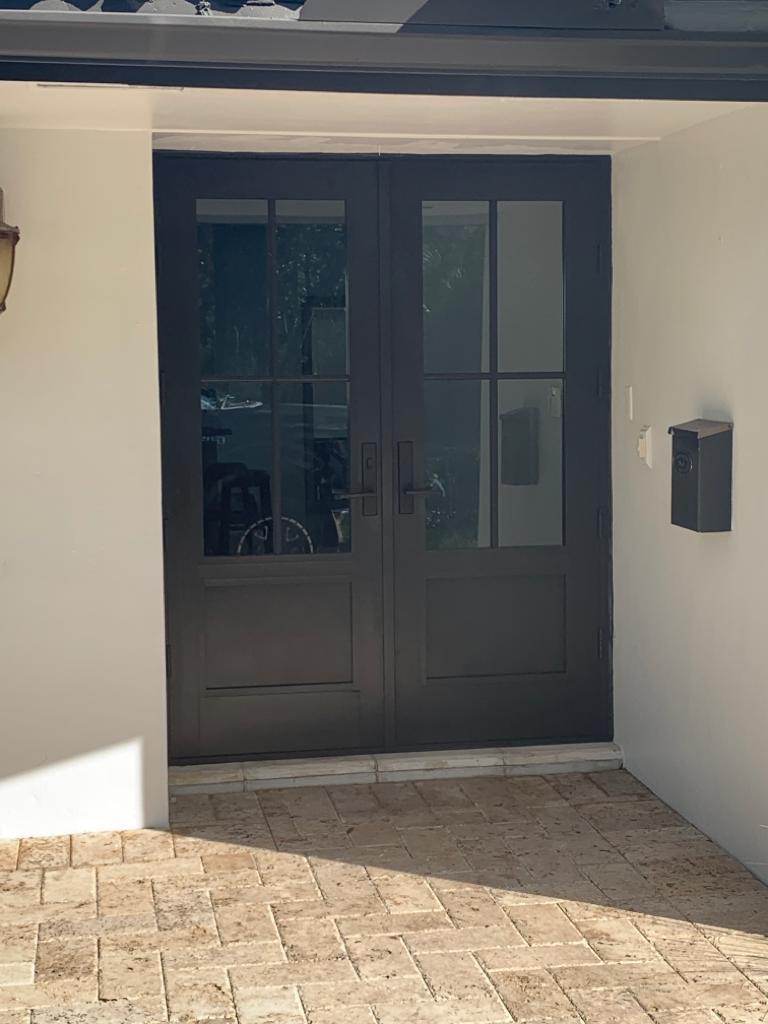 Impact Front Door